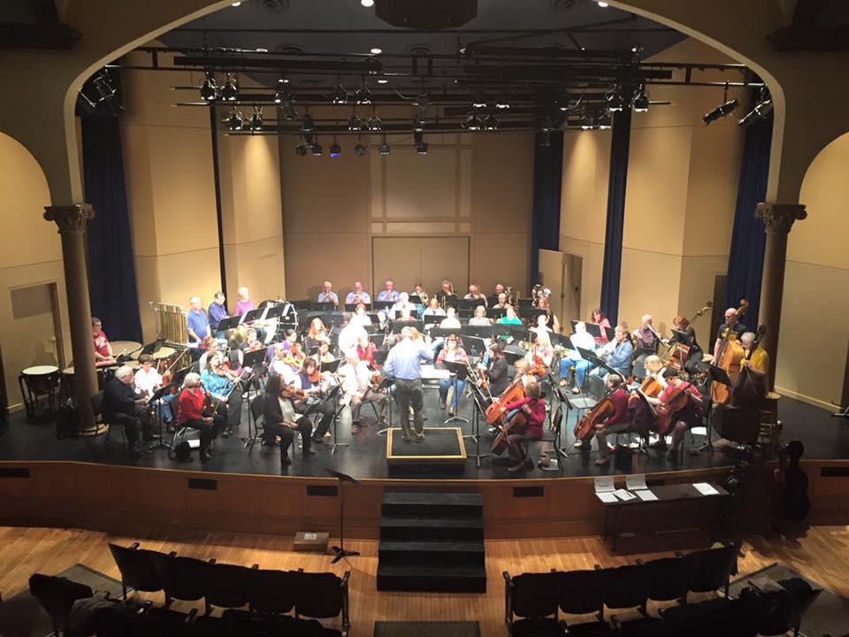 SEISO, Chapel Auditorium, Tindle, rehearsal