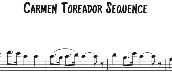 Carmen Toreadors Sequence 1