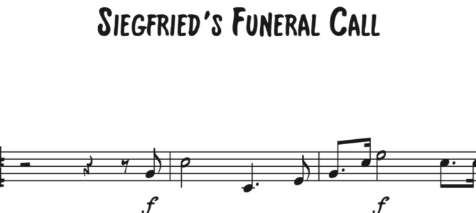 Siegfried's Funeral Call Sequence