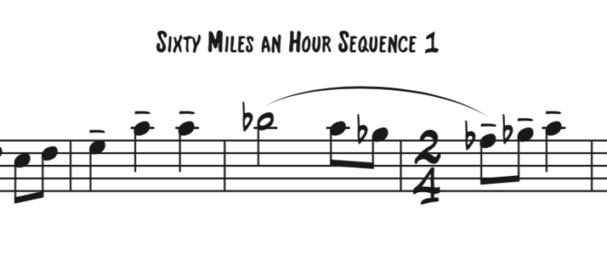 At Sixty Miles an Hour Sequence 1