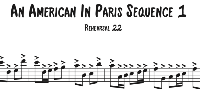 An American in Paris Sequence 1