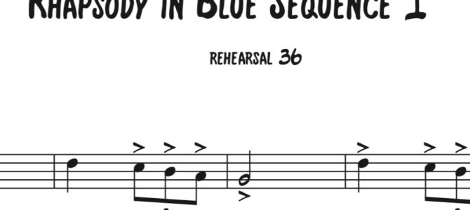 Rhapsody in Blue Sequence 1