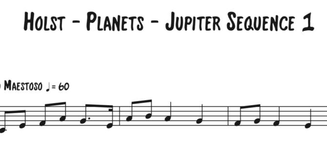 Holst – Planets – Jupiter Sequence 1