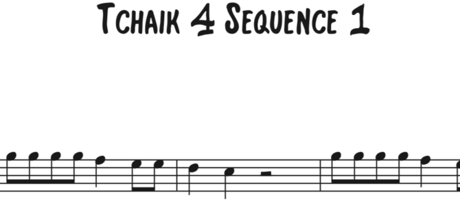 Tchaikovsky 4 Sequence 1
