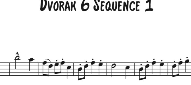 Dvorak 6 Sequence 1