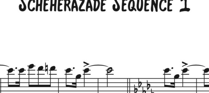 Rimsky-Korsakov – Scheherazade Sequence 1