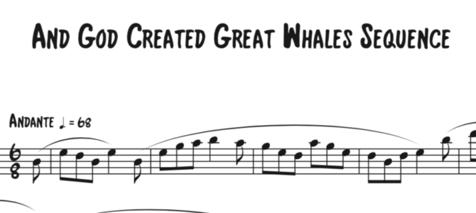 Hovhaness – And God Created Great Whales Sequence