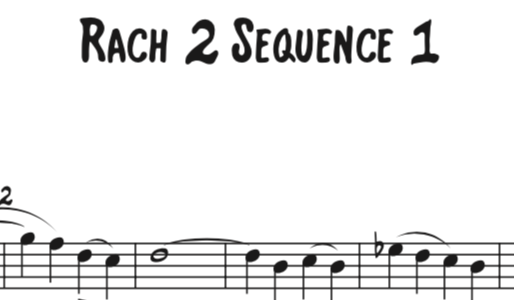 Rachmaninoff Piano Concerto No. 2 – Sequence 1