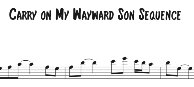 Kansas – Carry On My Wayward Son Sequence