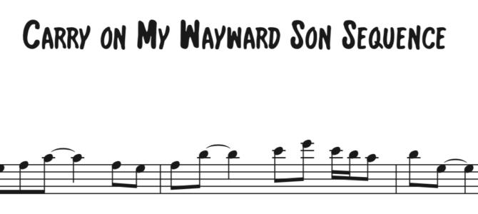 Kansas – Carry On My Wayward Son Sequence