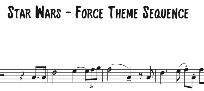 John Williams – The Force Theme from Star Wars