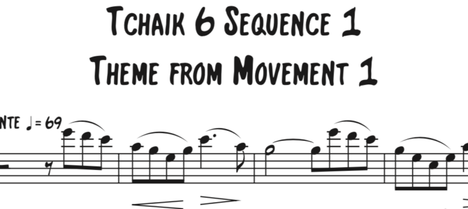 Tchaikovsky – Symphony 6 Sequence 1