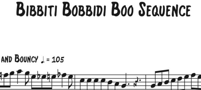 Cinderella – Bibbidi Bobbidi Boo Sequence