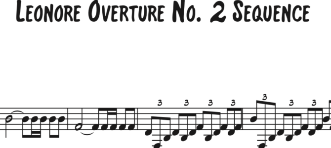 Beethoven – Leonore Overture No. 2 Sequence featuring Ryan Beach