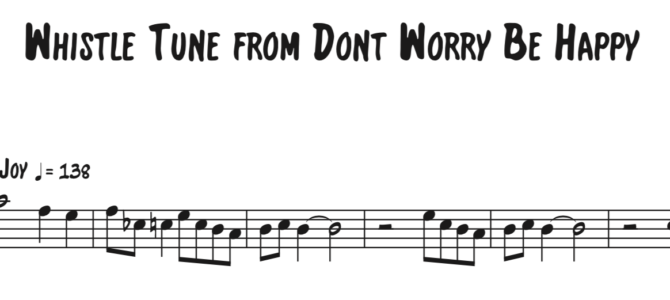 Bobby McFerrin – Don't Worry Be Happy Sequence
