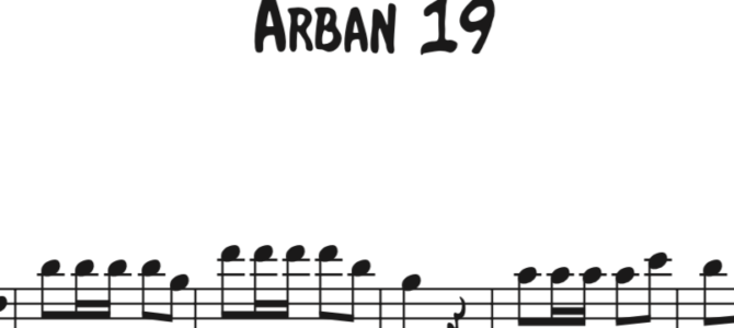 Arban 19 Sequence