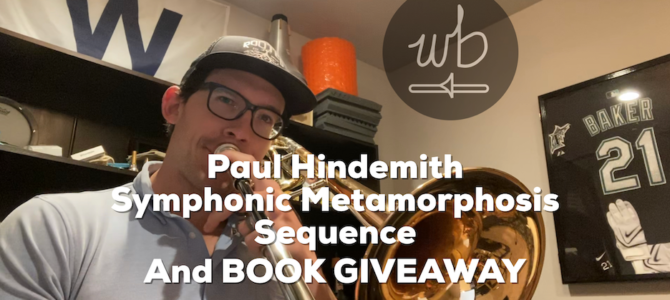 Hindemith – Symphonic Metamorphosis Sequence 1