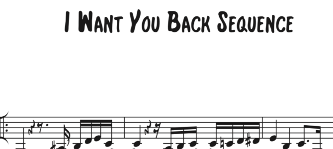 The Jackson 5 – I Want You Back Sequence