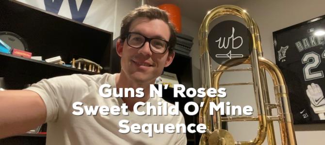 Guns N' Roses – Sweet Child O' Mine Sequence