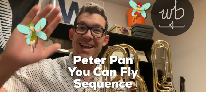 Fain/Cahn – Peter Pan – You Can Fly Sequence