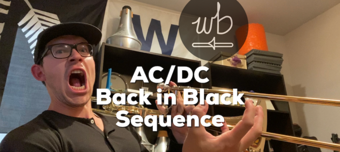 AC/DC – Back in Black Sequence
