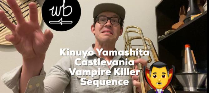Yamashita – Castlevania Vampire Killer Sequence