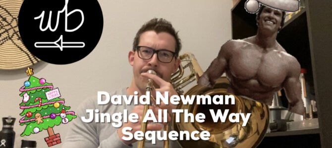 David Newman – Jingle All The Way Sequence
